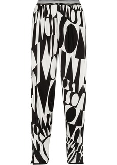 Missoni Printed stretch-jersey pants