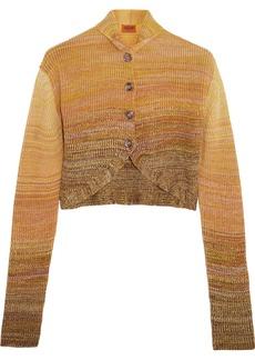 Missoni Ribbed wool-blend shrug