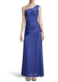 Missoni Ruched One-Shoulder Gown
