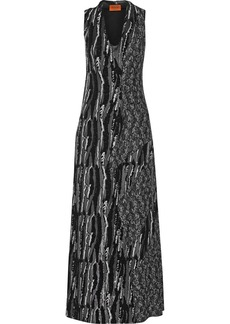 Missoni Sequin-embellished chiffon gown
