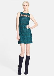 Missoni Sleeveless Sheer Panel Knit Dress