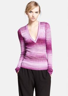 Missoni Space Dye V-Neck Shirt