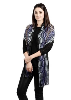 Missoni Squiggly Pattern Scarf