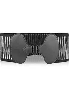 Missoni Stretch-knit waist belt