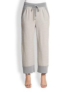 Missoni Textured Drawstring Pants