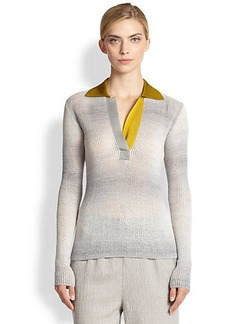 Missoni Thermal Polo Sweater