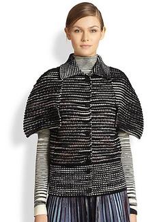 Missoni Tweed Cape Jacket