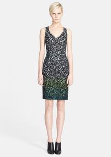 Missoni V-Neck Macramé Lace Dress
