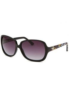 Missoni Women's Black Square Sunglasses Multi-Color Arms