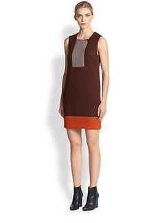Missoni Wool Ribbing-Detail Dress