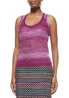 Striped Space-Dyed Tank   Striped Space-Dyed Tank