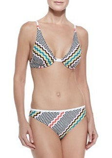 Wavy-Pattern Underwire Bikini   Wavy-Pattern Underwire Bikini