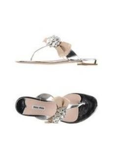 MIU MIU - Thong sandal