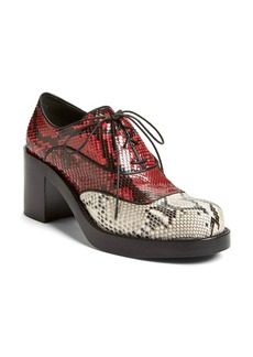 Miu Miu Block Heel Oxford (Women)