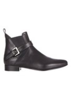 Miu Miu Buckle-Strap Ankle Boots