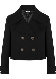 Miu Miu Cropped wool-crepe jacket