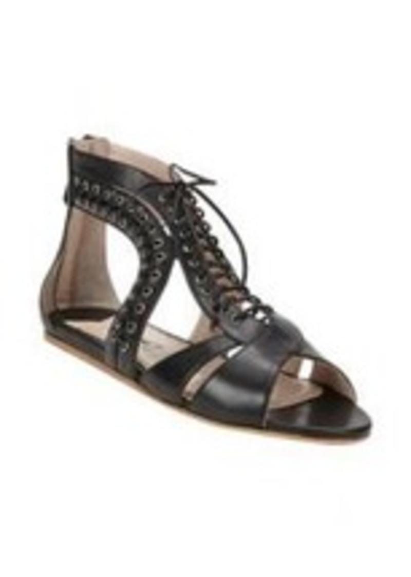 miu miu miu miu lace up gladiator sandals shoes shop it to me. Black Bedroom Furniture Sets. Home Design Ideas
