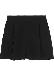 Miu Miu Pleated cady shorts