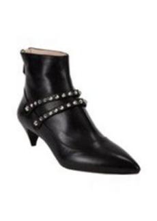 Miu Miu Studded Double-Strap Ankle Boots