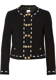 Moschino Crepe jacket