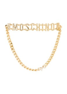 "Moschino <div class=""product_name"">Chain Logo Belt</div>"
