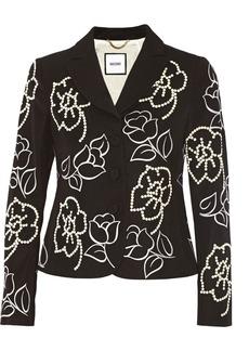 Moschino Embellished wool jacket