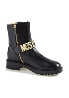 Moschino Letter Boot (Women)