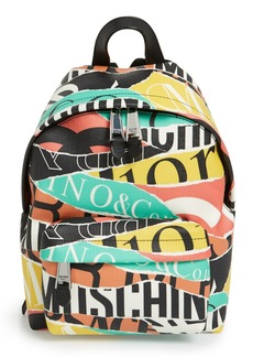 Moschino 'Logos' Backpack