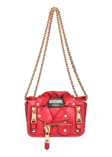 Moschino 'Mini Leather Jacket' Crossbody Bag