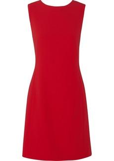 Moschino Pleated crepe dress