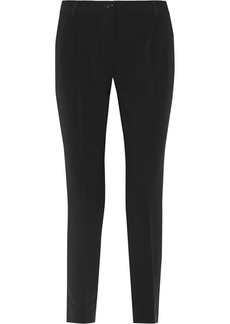 Moschino Pleated crepe pants