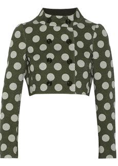 Moschino Polka-dot knitted jacket