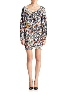 Moschino Soda-Print Sweatshirt Dress