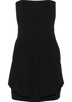Moschino Strapless crepe dress