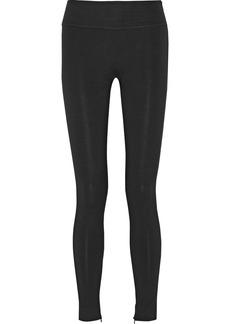 Moschino Stretch-crepe skinny pants