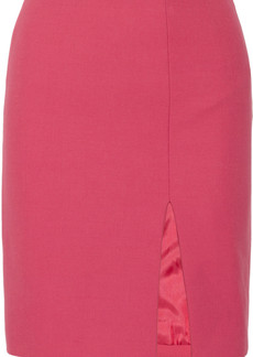 Moschino Wool and cotton-blend skirt