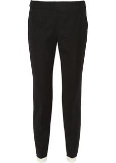 Moschino Wool straight-leg pants