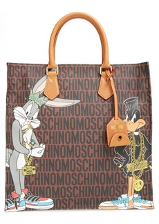 Moschino 'Looney Tunes - Bugs & Daffy' Tote