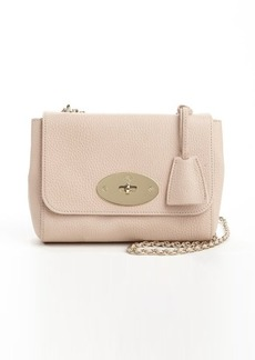 Mulberry ballet pink leather and suede 'Lily' crossbody bag
