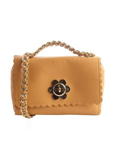 Mulberry biscuit brown leather daisy buckle shoulder bag