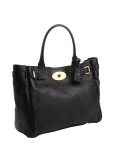 Mulberry black buffalo leather 'Bayswater' tote