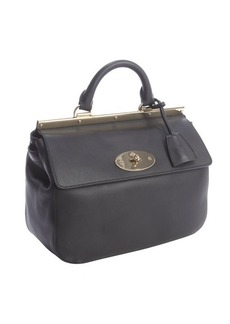 Mulberry black calfskin leather 'Suffolk' satchel