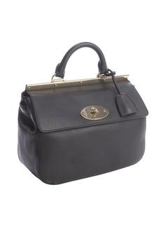 Mulberry black calfskin leather 'Suffolk' satchel