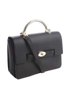 Mulberry black leather 'Bayswater'