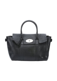 Mulberry black leather 'Bayswater Buckle' tote bag