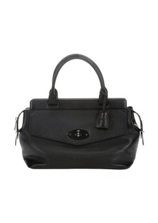Mulberry black leather 'Blenheim' small tote