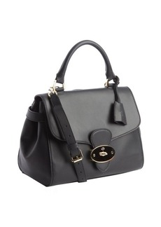 Mulberry black leather 'Primrose' convertible bag