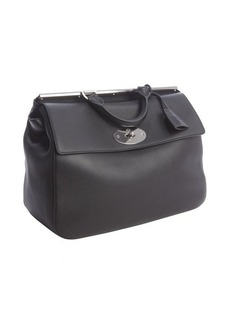 Mulberry black leather 'Suffolk' convertible shoulder bag