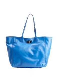 Mulberry blue leather 'Dorset' medium tote