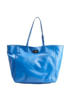 Mulberry blue leather 'Dorset' medium tote